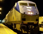 Amtrak train 95 running fourty-five minutes late